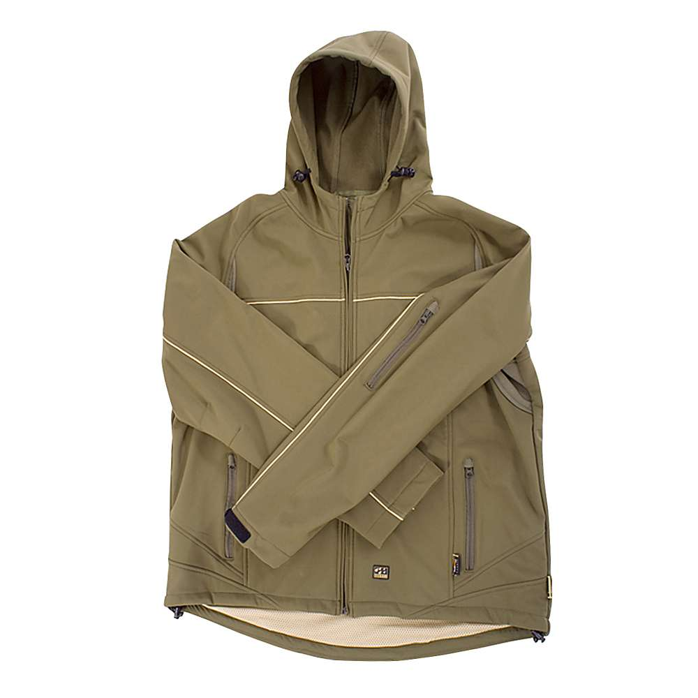 Softshell Jacket - Ocean Thor - Breathable - Size S to 4XL - Color Olive