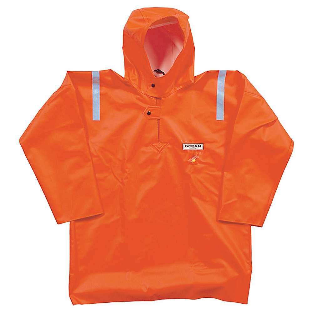 Fisherman blouse - Ocean - Flame retardant - Size S to 8XL - Color Orange