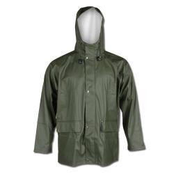 """BENSERIEL"" - PU - rain jacket - olive"