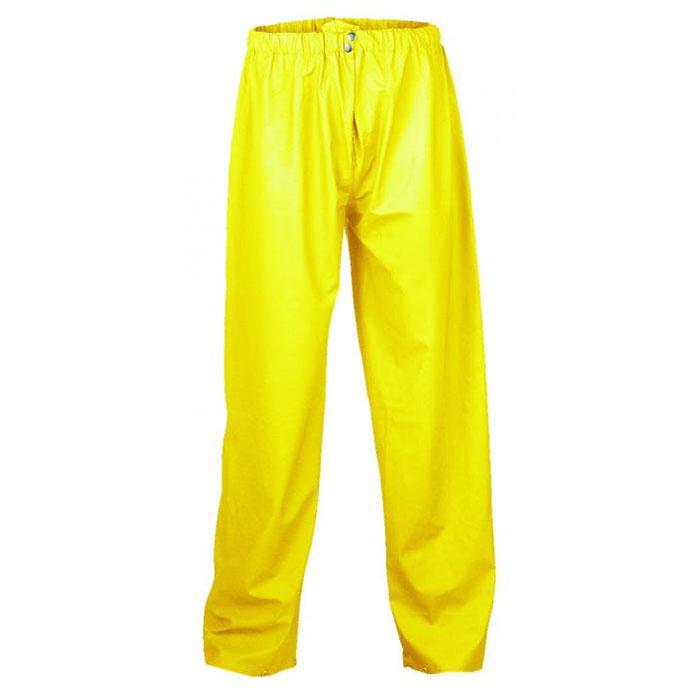 """Hooksiel"" - PU Regenbundhose - Farbe gelb"