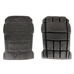Knäskydd - svart - tillverkad av EVA