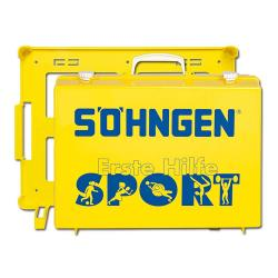 "Førstehjælpskasse ""Sport MT-CD"" - gul - fyldt - Plast"