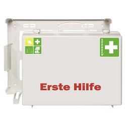 """Førstehjælp kit """"MT-CD industri"""" - fyldt - DIN 13169 - hvid"""
