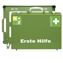"""Førstehjælp kit """"MT-CD industri"""" - fyldt - DIN 13169 - grøn"""