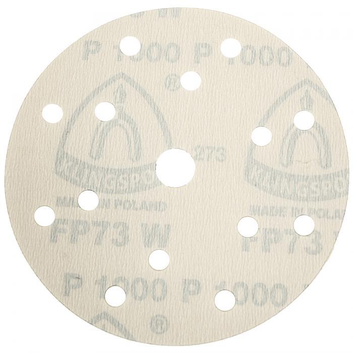 Schleifpapier Scheibe FP 73 WK - Durchmesser 150 mm - Korn 80 bis 1500 - Lochform GLS 47