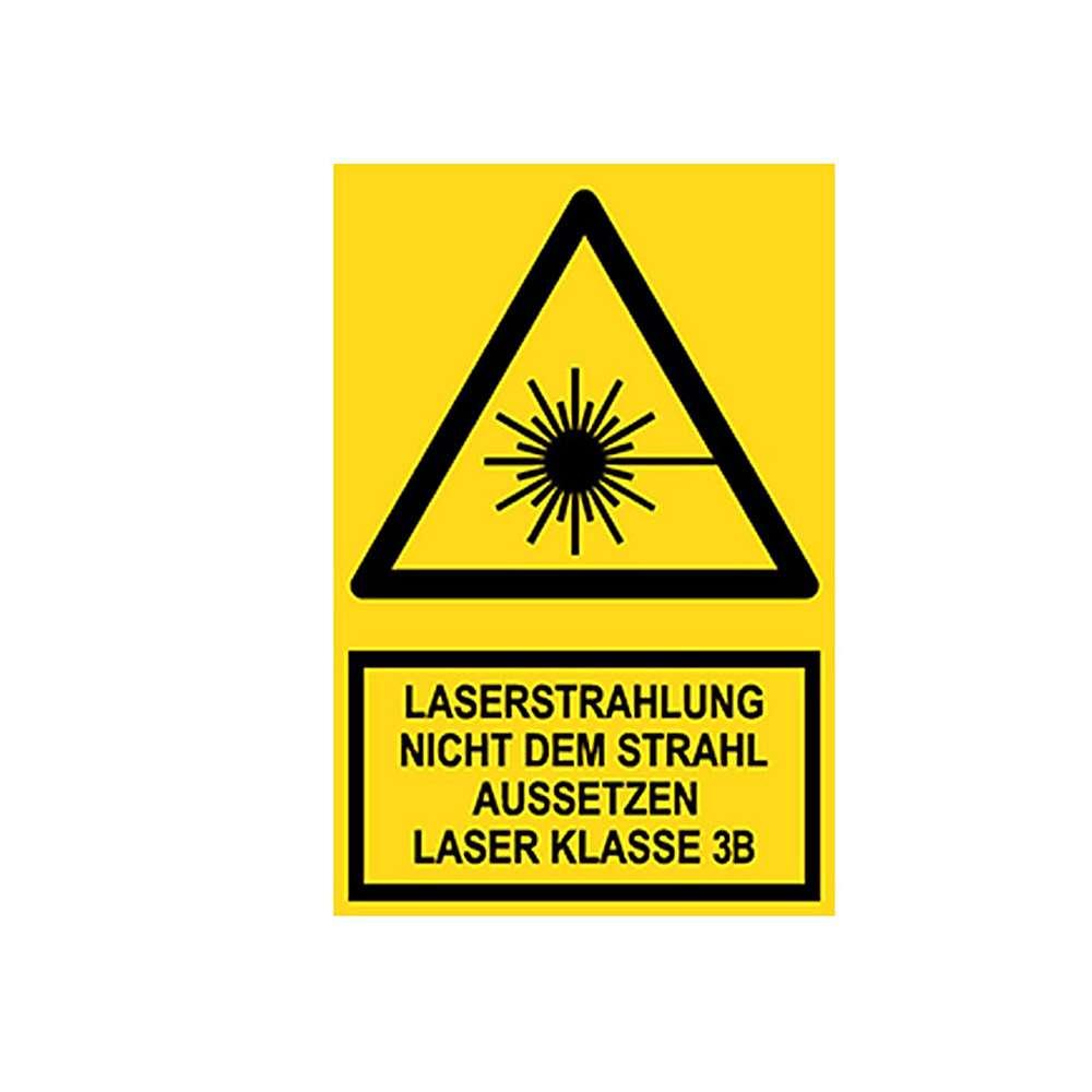 Warnschild - Laserstrahlung Nicht dem Strahl aussetzen Laser Kl. 3B