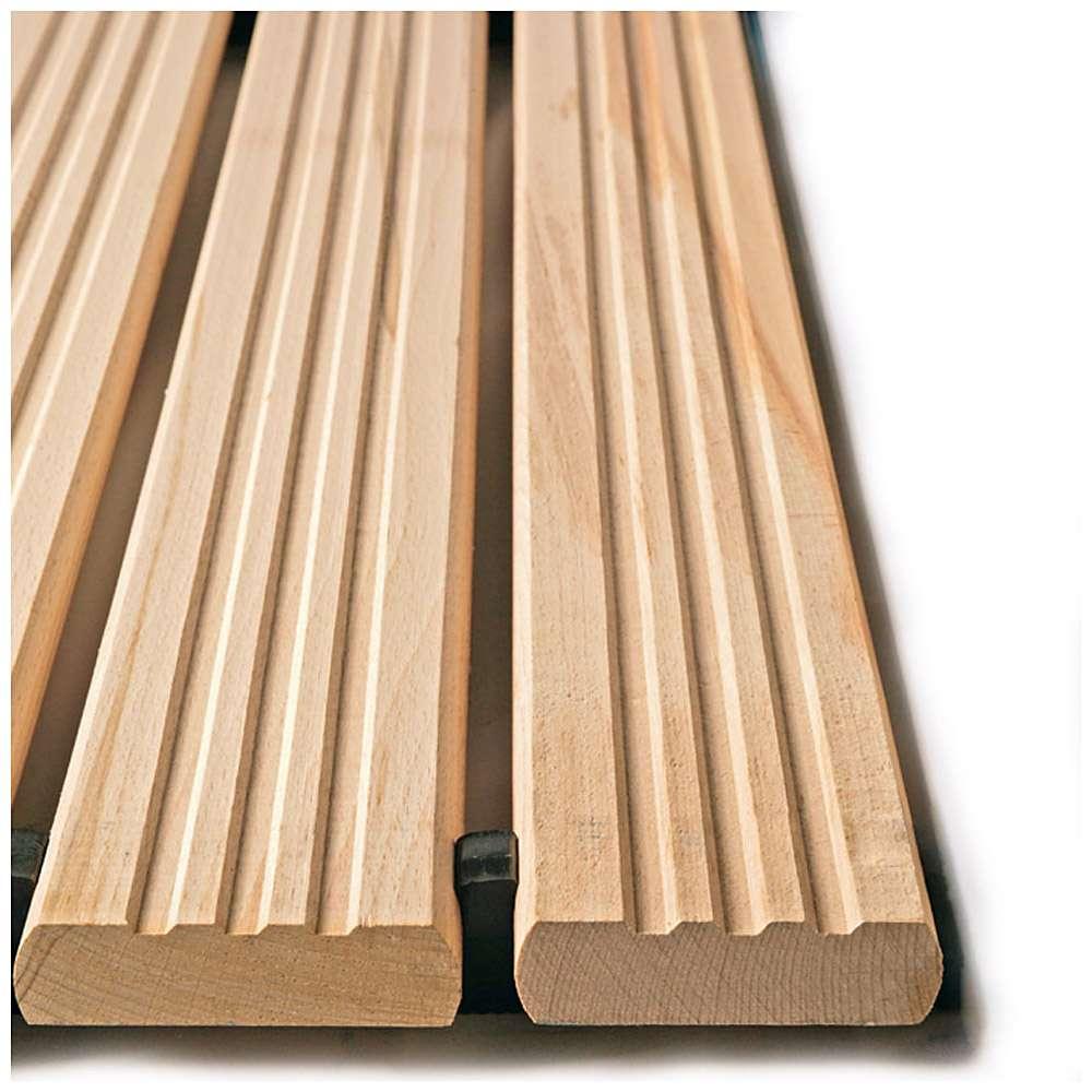 Yoga Holzrost® - Typ B - Arbeitsplatzmatte - Stärke 35 mm
