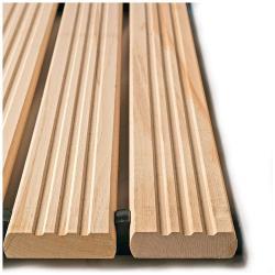 Yoga Holzrost® - typ B - arbetsplatsmatta - tjocklek 35 mm