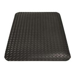 Arbetsplatsmatta - Yoga Deck® - svart - tjocklek 12 mm - PVC
