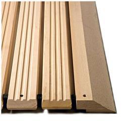 Yoga Holzrost® - typ F - arbetsplatsmatta - Massiv bok trä