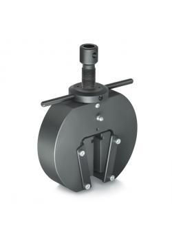 Tension puristin - kiila suunnittelu - max. Kuormitus 20 kN - max. Siipien kärkiväli 10 mm - 2 kpl