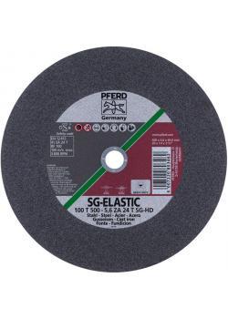 Trennscheibe - PFERD SG-ELASTIC - für Stahl u.a - für Hochleistungsmaschinen