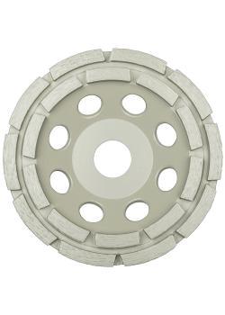 Diamantschleifscheibe DS 300 B - Durchmesser 100 bis 180 mm - Schleiftellerhöhe 20 bis 30,5 mm - gelötet