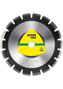 Diamanttrennscheibe DT 602 A - Durchmesser 450 mm - Bohrung 25,4 mm - weit verzahnt