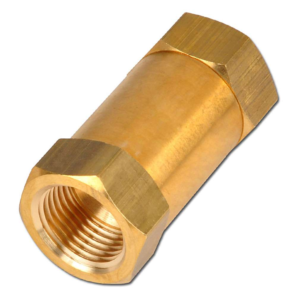 """Check Valve - MS 2xIT 1 / 4 """"- 1"""" through-shaped connection"""