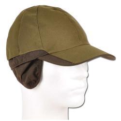 Jaktkeps - stl. 58/59 - 100% polyester - med nackskydd