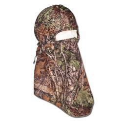 """Restposten - Jagd-Maske - One Size - 49 Camouflage - 100% Polyester - """"Deerhunter Europe"""" - mit elastischen Kordeln für perfekten Sitz"""