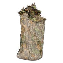 """Restposten - Jagd-Kappe - One-Size - camouflage - 100% Polyester - """"Deerhunter 3D"""" - mit Gesichtsmaske"""