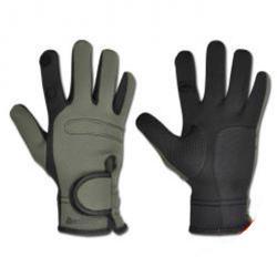 """Restposten - Jagd-Handschuhe """"Deerhunter Neoprene 1,5 mm"""" - Farbe Grün - Größe S"""