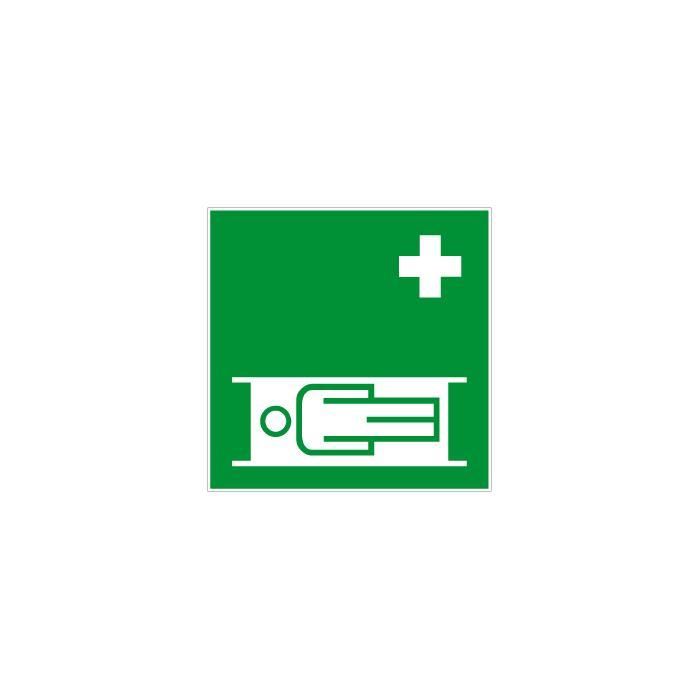 """Rettungszeichen """"Krankentrage"""" - 5, 10, 20, 25, 30 oder 40 cm"""