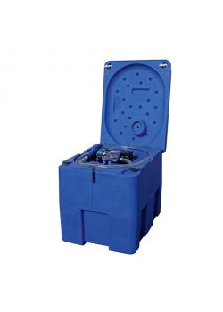 Mobil Bränsletank - 200 liter - för AdBlue® - pump 20 l / min 12V DC - med räkneverk och låsbart lock