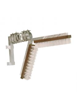 Scratching brush for pigs - brush dimensions 43 x 10 cm