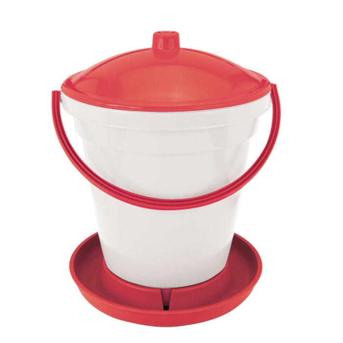 Poultry drinking pail - with carrying handle - 12 to 24 l