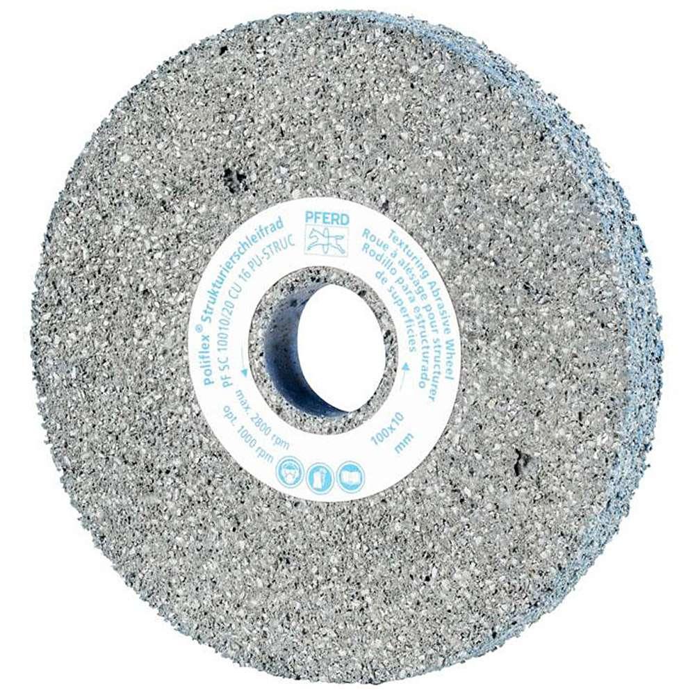 Schleifrad - PFERD Poliflex® - zur Strukturierung von Edelstahl