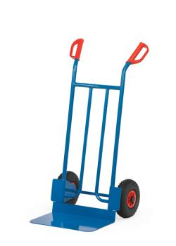 Tubular steel cart - solid tires - 250 kg - height 1150 mm