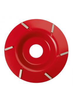 Claw cutting disc P6 - disc diameter 105 to 125 mm - cutting height 1.8 mm
