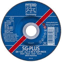 Skärhjul - PFERD - för rostfritt stål (INOX) - Hårdhet S - vevas konstruktion