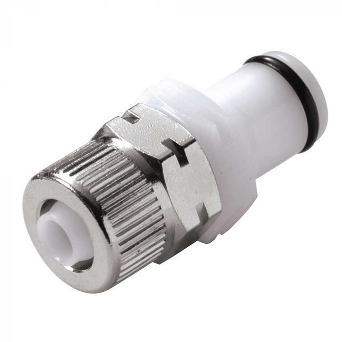 CPC Kupplung - NW 6,4 mm - POM - Vaterteile - mit und ohne Ventil - Schlauchnippel mit Schlauchverschraubung - verschiedene Ausführungen