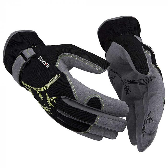 Schutzhandschuhe 5535 Guide PP - Synthetikleder - Größe 07 bis 09 - Preis per Paar
