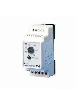 Thermostat ETI - mit enstellbarem Differenzial - 10A - für Frostschutz
