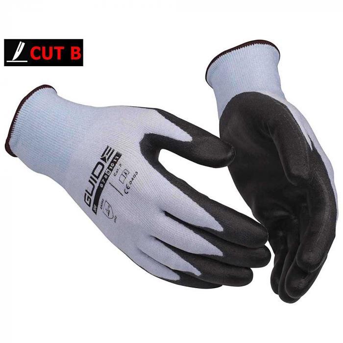 Schutzhandschuhe 5532 Guide - PU-Teilbeschichtung - Größen 07 bis 09 - Preis per Paar