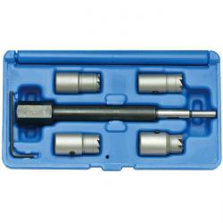 Injektoren Dichtsitz-Fräser-Set - für CDI Motoren - 5-teilig