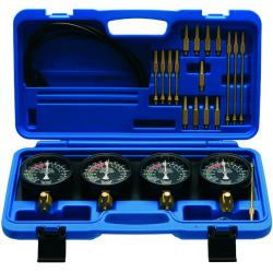 Synchronous testing device - for carburator - 0-14 PSI - 25 pieces