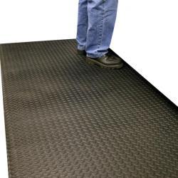 Orthomat Diamond workplace mat single-layer PVC
