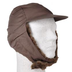 """Wintermütze """"Sascha"""" - 65% Polyester/ 35% Baumwolle - steingrau"""