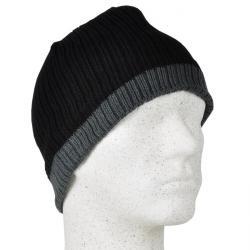 "Mössa ""Ole"" - 100% Thinsulate - svart/grå - en storlek"