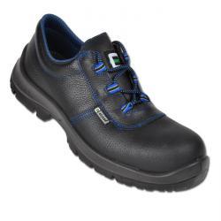 """Restposten - Berufs-Schuhe - Gr. 47 - Weite 11 - schwarz - Schaft aus vollnarbigem Leder - """"Cuxhaven"""" - S3 - mit Brandsohle"""