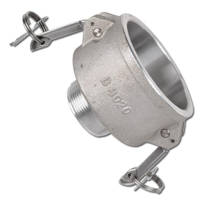 """Hävarmskoppling reducerkoppling """"LMC"""" - typ B - aluminium - hane"""