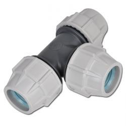 T-stycke PE för PEX-rör - 90° - PN 10