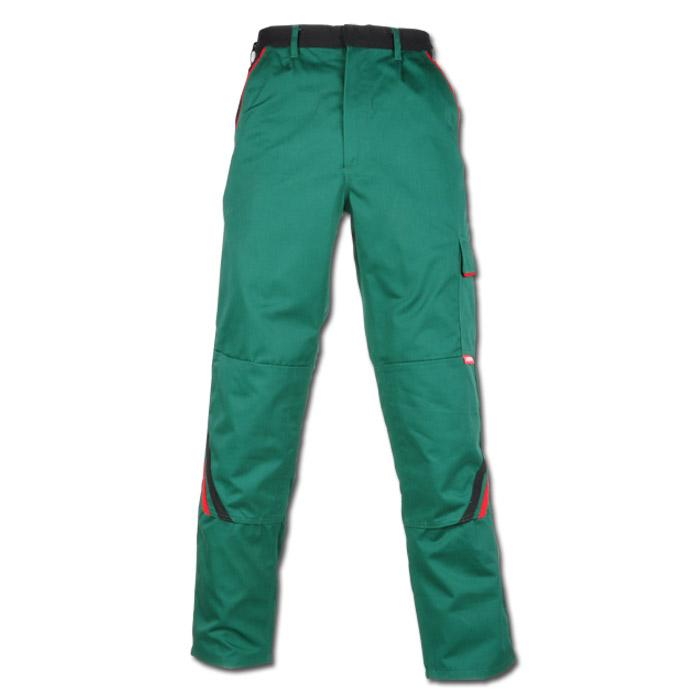 "Byxor ""High"" Planam - 35/65% MG - grön / svart"