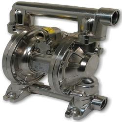 Pompa pneumatica a doppio diaframma DP-160 - alloggiamento in alluminio - portata 160 l / min - pressione 8 bar