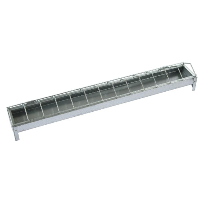 Feeding trough - 50 to 100 cm - galvanized