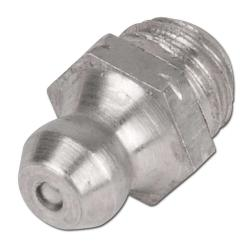 Edelstahl Hydraulik-Kegel-Schmiernippel Typ H1 DIN 71412A - M8 x 1 / SW 9