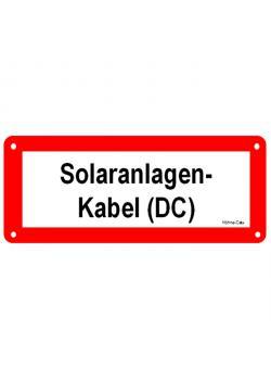 """Logga för solcellsanläggningar - """"solar system kabel (DC)"""""""