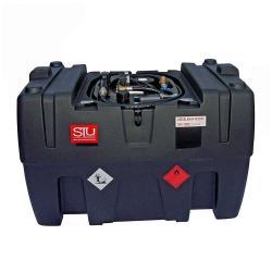 Mobil Bränletank - 400 liter - för diesel - 40 l/min - Spänning 230V
