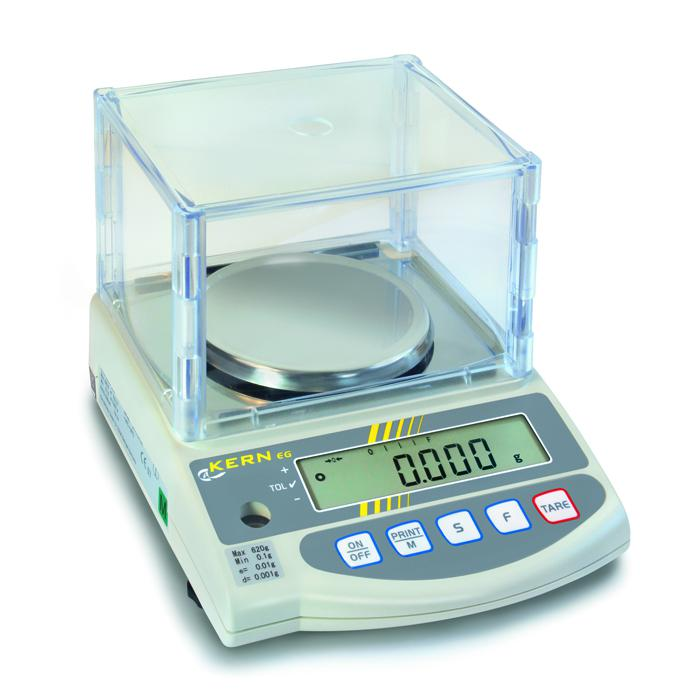 Waage - max. Wägebereich 220 bis 4200 g - mit Eichzulassung